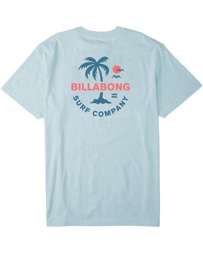 4 Vacation T-Shirt Blue M4043BVA Billabong