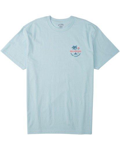 3 Vacation T-Shirt Blue M4043BVA Billabong