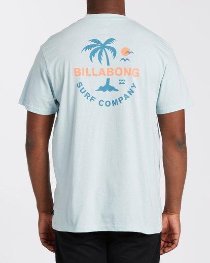 2 Vacation T-Shirt Blue M4043BVA Billabong