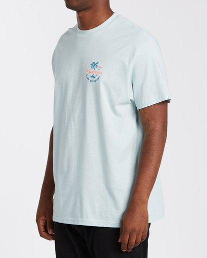 1 Vacation T-Shirt Blue M4043BVA Billabong
