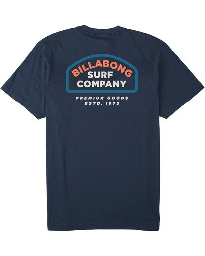 1 Walled T-Shirt Blue M4043BWA Billabong