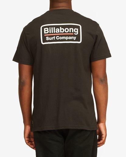 2 Walled T-Shirt Black M4043BWA Billabong