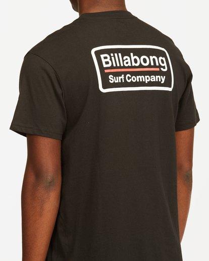 3 Walled T-Shirt Black M4043BWA Billabong