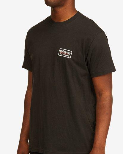 4 Walled T-Shirt Black M4043BWA Billabong