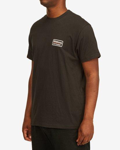 1 Walled T-Shirt Black M4043BWA Billabong