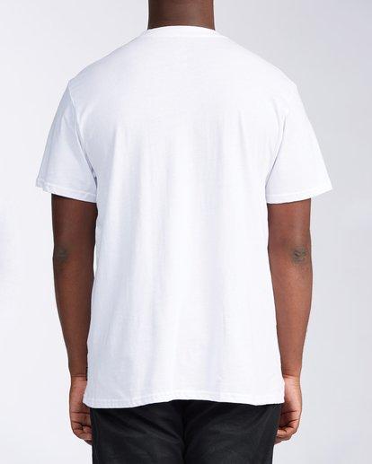 2 Floral Wave Short Sleeve T-Shirt White M404JTOR Billabong
