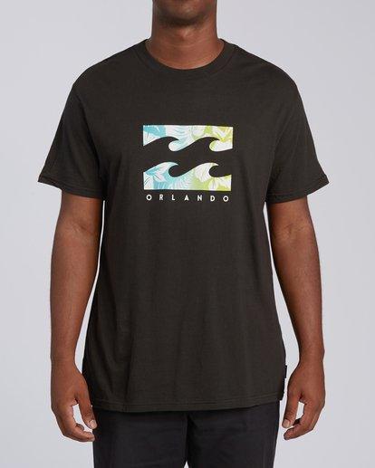 0 Floral Wave Short Sleeve T-Shirt  M404JTOR Billabong