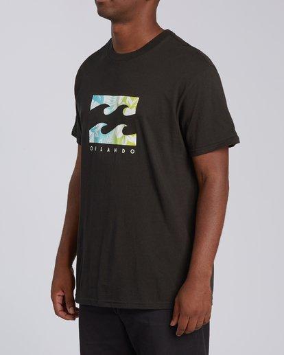 1 Floral Wave Short Sleeve T-Shirt  M404JTOR Billabong