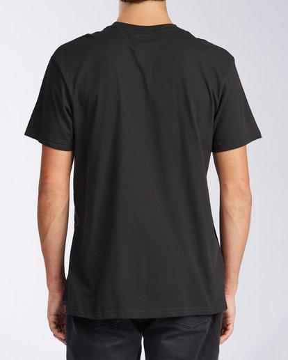 2 Waikiki Floral Short Sleeve T-Shirt Black M404JWWR Billabong