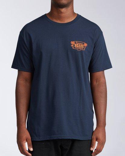 0 Laguna Short Sleeve T-Shirt Blue M404LLLB Billabong