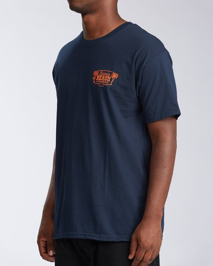 1 Laguna Short Sleeve T-Shirt Blue M404LLLB Billabong