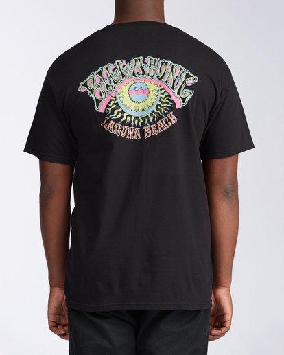 2 Siesta Laguna Short Sleeve T-Shirt Black M404LSLB Billabong