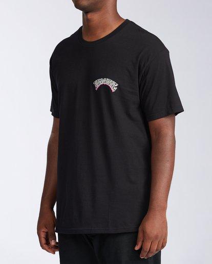1 Siesta Laguna Short Sleeve T-Shirt Black M404LSLB Billabong