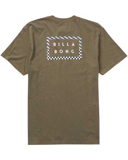 1 Border Die Cut T-Shirt  M404PBBO Billabong