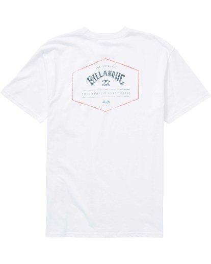 1 Hex Arch T-Shirt White M404PBHA Billabong