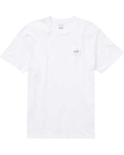 0 Hex Arch T-Shirt White M404PBHA Billabong
