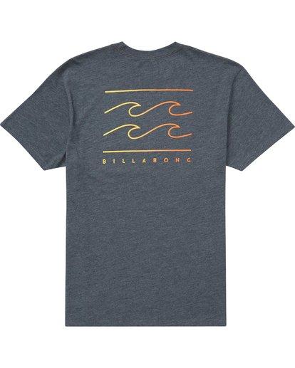 1 Flat Line T-Shirt  M404QBFL Billabong