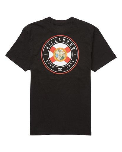 1 Native Rotor Fl T-Shirt  M404QBNF Billabong