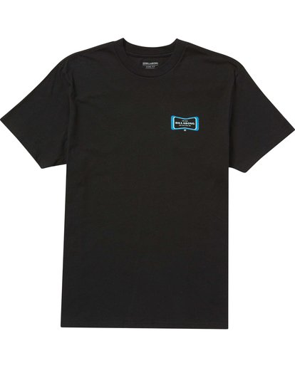 0 Pulse T-Shirt Black M404QBPL Billabong
