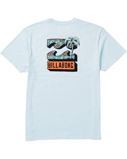 1 Bbtv Tee Shirt Blue M404SBBB Billabong