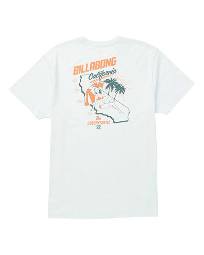 1 Golden State Short Sleeve T-Shirt Blue M404SBGO Billabong