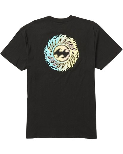 1 Ooze T-Shirt Black M404SBOO Billabong