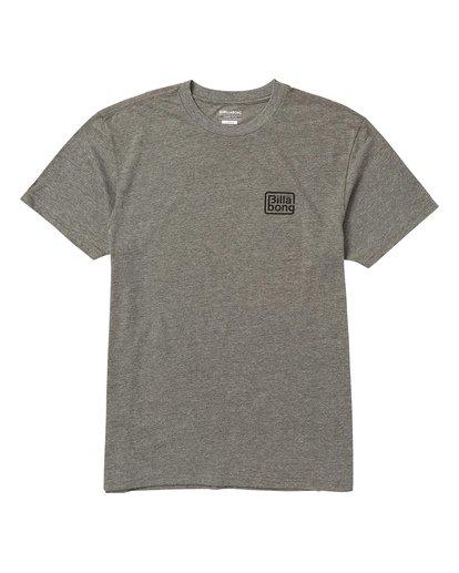 0 Overland Tee Shirt Grey M404SBOV Billabong