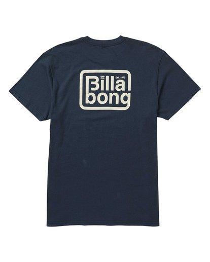 1 Overland T-Shirt Blue M404SBOV Billabong