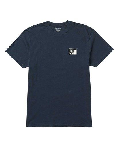0 Overland T-Shirt Blue M404SBOV Billabong