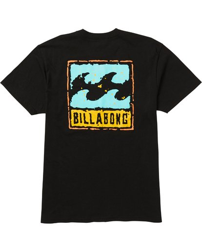 1 Psycho Tee Shirt Black M404SBPS Billabong