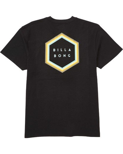 1 Access Border Tee Black M404TBAB Billabong