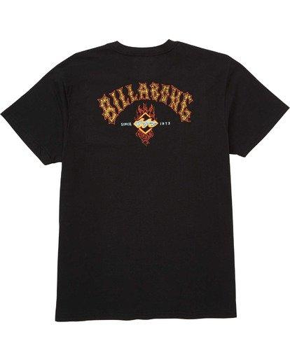 1 Archfire T-Shirt  M404TBAF Billabong