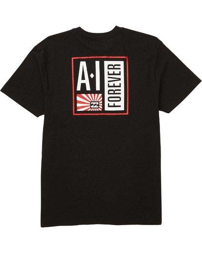1 AI Stamp T-Shirt Black M404TBAI Billabong