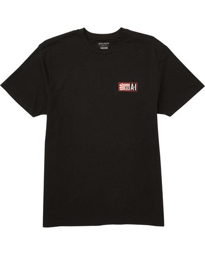 0 AI Stamp T-Shirt Black M404TBAI Billabong