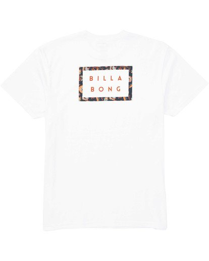 1 Die Cut T-Shirt White M404TBDC Billabong