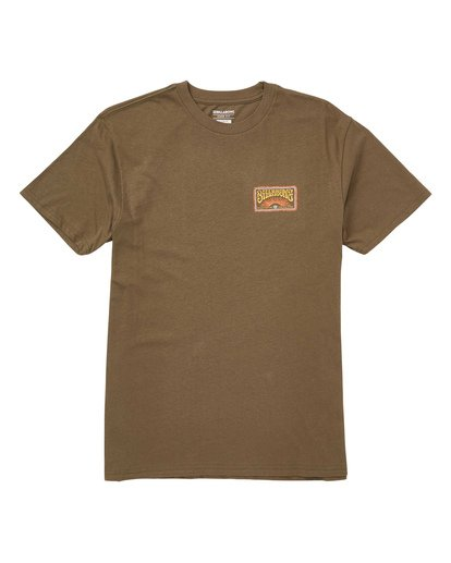 0 Deadhead Tee Green M404TBDE Billabong