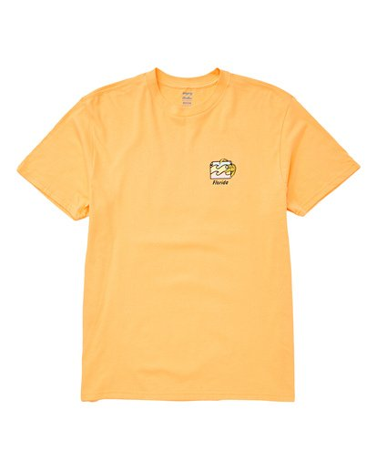 0 Gator Tee Orange M404TBGT Billabong