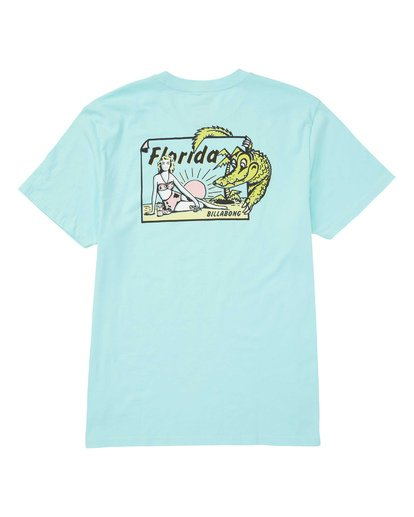 1 Gator Tee Green M404TBGT Billabong
