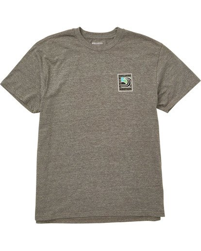 0 Pipe Poster Tee Grey M404TBPI Billabong