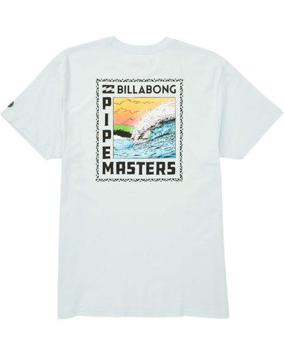 1 Pipemasters T-Shirt Blue M404TBPM Billabong