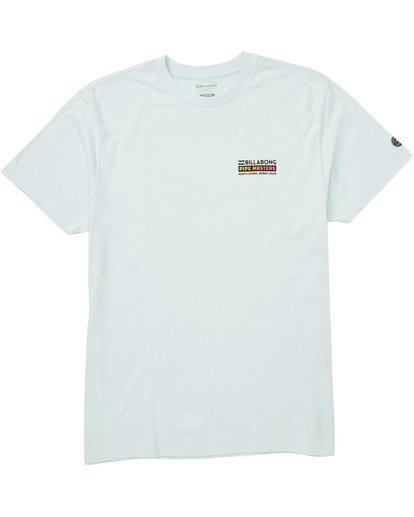 0 Pipemasters T-Shirt Blue M404TBPM Billabong
