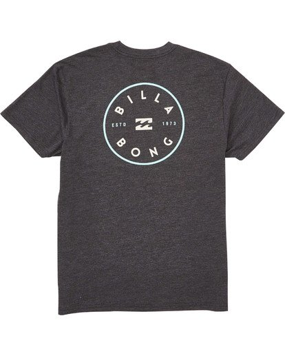 1 Rotor T-Shirt Grey M404TBRO Billabong