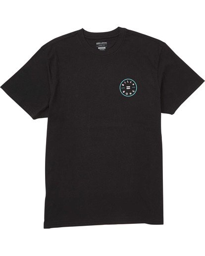0 Rotor T-Shirt Black M404TBRO Billabong