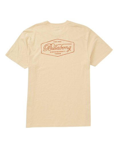 1 Trademark T-Shirt Beige M404TBTM Billabong