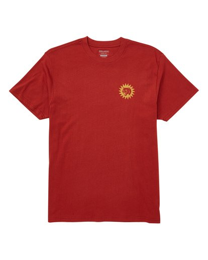 0 Tropix Tee Brown M404TBTR Billabong
