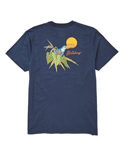 1 Birdsville T-Shirt Blue M404UBBI Billabong