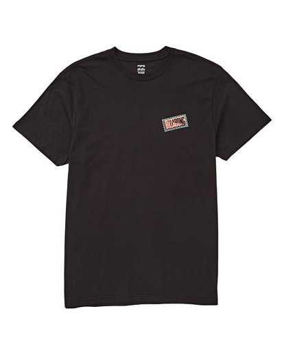 0 Chainsaw T-Shirt Black M404UBCH Billabong