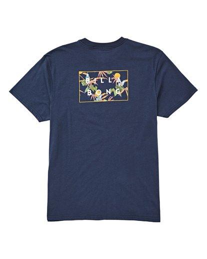 1 Diecut T-Shirt Blue M404UBDC Billabong