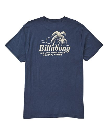 1 Foxtail Tee Blue M404UBFO Billabong