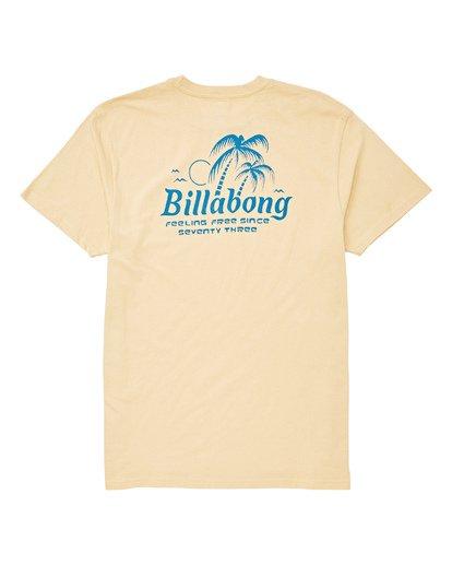 1 Foxtail T-Shirt Beige M404UBFO Billabong